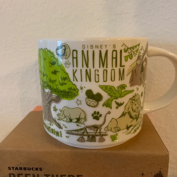 Disney Starbucks Animal Kingdom Mug